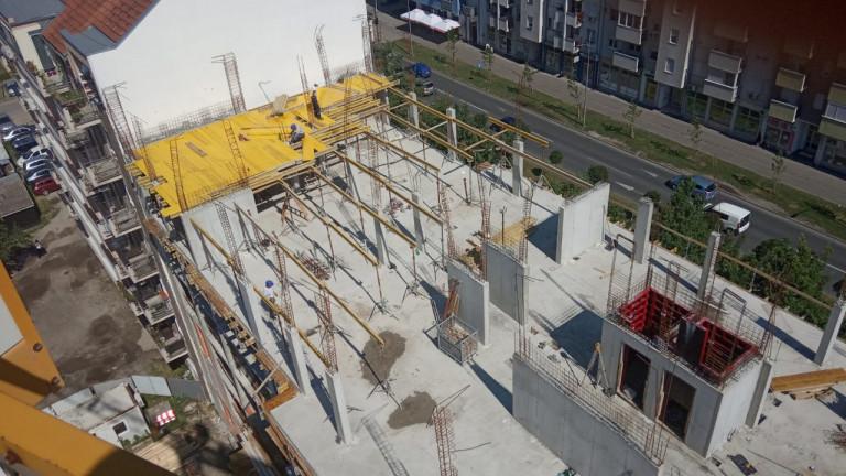 Nova zgrada- Permano doo - novogradnja Novi Sad.