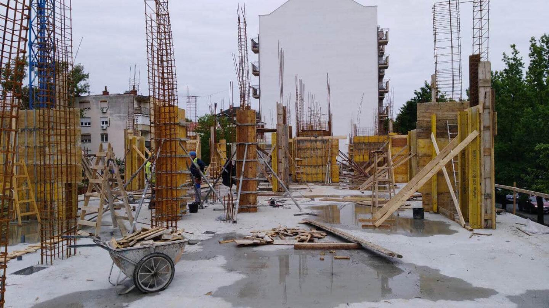 Gradilište Permano doo. Prodaja stanova. Novogradnja Novi Sad.